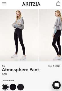 Aritzia TNA 'atmosphere' pants