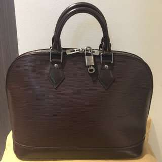 SALE❗️❗️uthentic Epi Alma with dustbag set lock mint condition