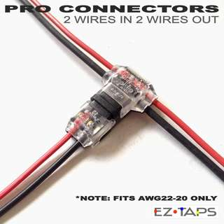 EZ Taps PRO CONNECTORS , EZ Taps , T Taps , T - connectors , Easy Splice connector