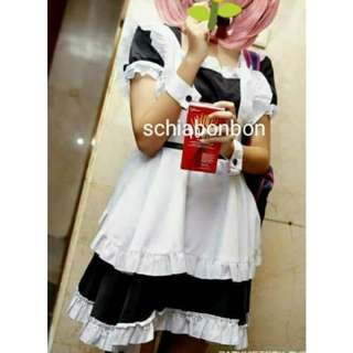 #Cosplay2018 Maid Cosplay Costume