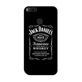 Jack Daniels Vector Xiaomi Mi A1 - Mi 5x Custom Hard Case