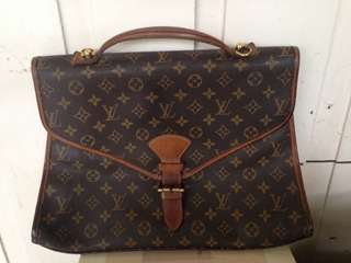 Authentic louis vuitton laptop office bel air bag