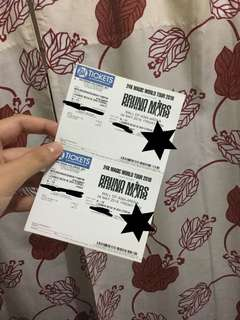 FOR SWAP (SWAP TO DAY 1) Bruno Mars Lowe Box B ticket