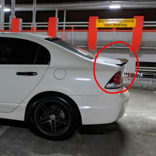 Civic FD Boot Lip Spoiler