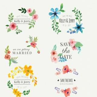 Tags for wedding and events