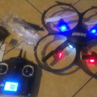 Defective Quadcopter Camera Drone