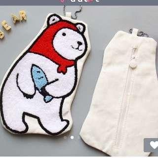 全新北極熊手機包售納包