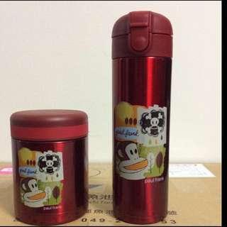 🚚 大嘴猴超真空保溫瓶+燜燒罐