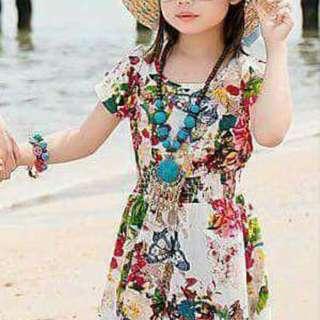 Floral kids dress