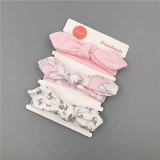 Pre-order infant/toddler/ baby headband - set 1