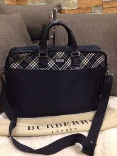 Authentic Burberry Laptop bag with Dustbag