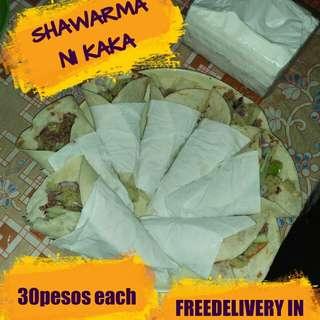 Shawarma (beef/chicken) taste like Turk's 😜😅