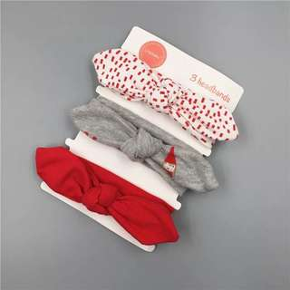 Pre-order infant/toddler/ baby headband - set 1