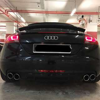 Audi TT / A3 ABT exhaust