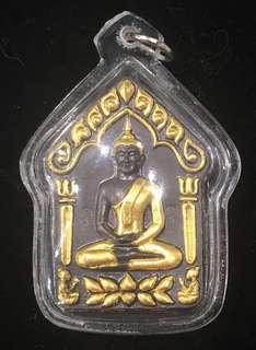 泰國佛牌 聖物 古巴甩 重料黑金和合坤平 (正牌)