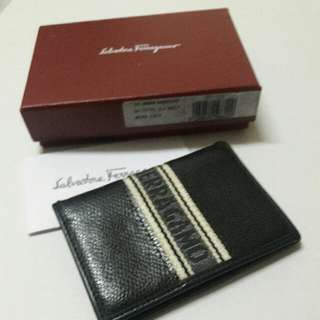 Salvatore Ferragamo Unisex Card Holder.