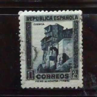 [lapyip1230] 西班牙共和國 1933年 壹圓 $1 VFU