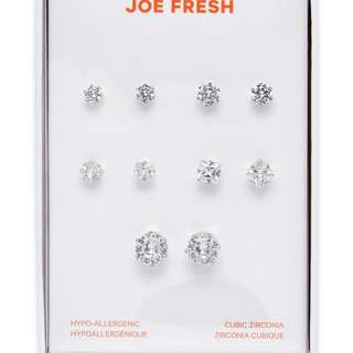 LOOKING FOR JOE FRESH CUBIC ZIRCONIA EARRINGS