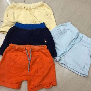 Baby Shorts- PRICE FOR ALL INCLD POSTAGE