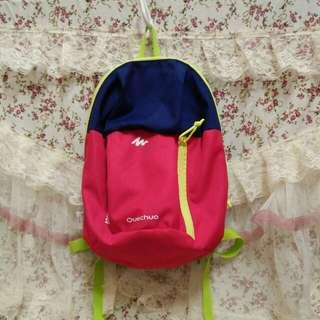 兒童5L 休閒健行背包 QUECHUA 粉紅色