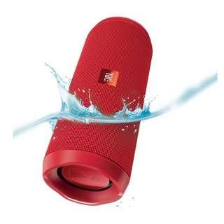 JBL FLIP 4 portable Bluetooth Speaker (Red)