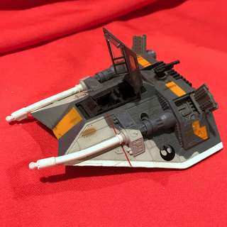 Star Wars Snowspeeder Rogue 2 Squadron Colors  Classic Galoob Action Fleet Vintage 1995