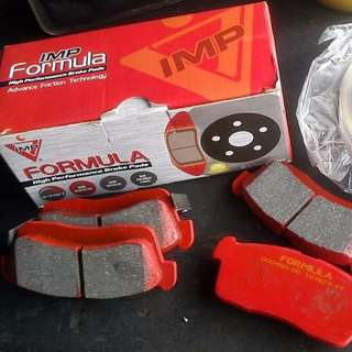 IMP Improve Formula Brake Pad 600c