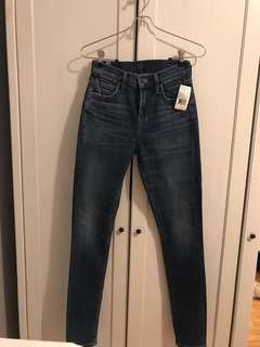 Citizen of Humanity High Rose Skinny Voodoo Size 24