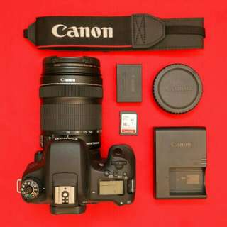 Canon 760D 18-135mm lens DSLR kit