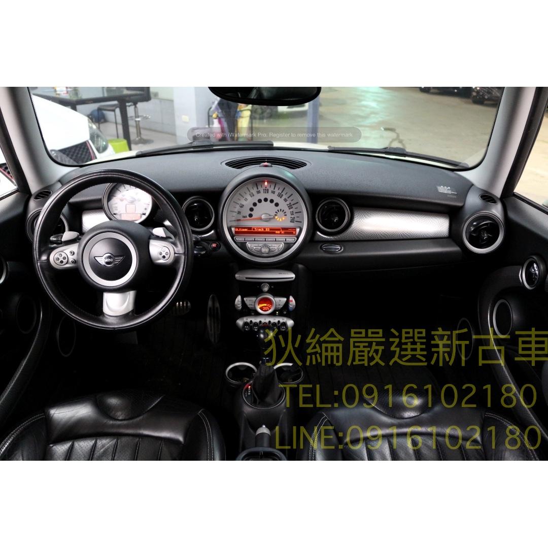 07年 BMW MINI Cooper S 白