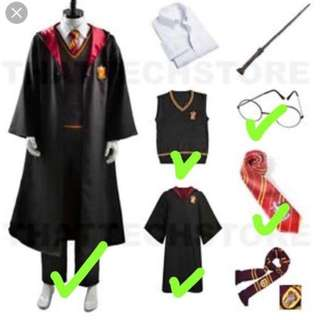 Harry Potter costume - Full Set with Wig