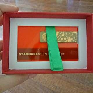 Starbucks Metal Card w/ 2500 load