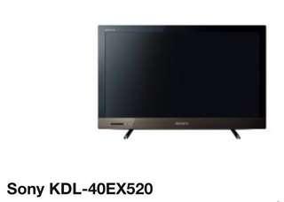 🈹‼️Sony LCD TV 40吋 電視機 KDL40EX520