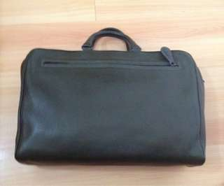 Bottega Veneta Olive Green Soft Briefcase