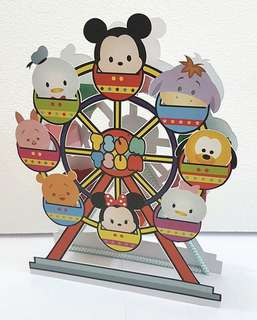 Tsum Tsum Ferries Wheel Cupcake/Candies Stand