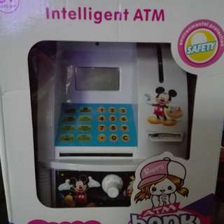 CHARACTER ATM MACHINE COIN BANK