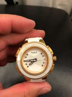 TOUS stainless steel watch