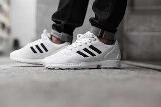 Adidas ZX Flux White/White/Black