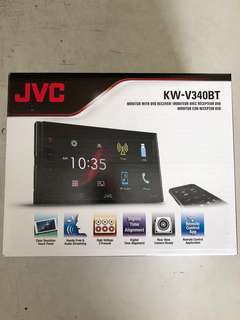 JVC KW-V340BT DVD Multimedia Player With Bluetooth And USB