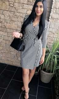 Misspap striped dress