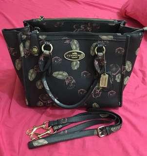 Floral Coach Bag
