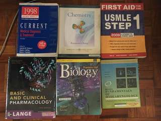 Medical and Pre-med Books