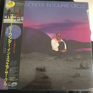 Stevie Wonder In Square Circle Vinyl