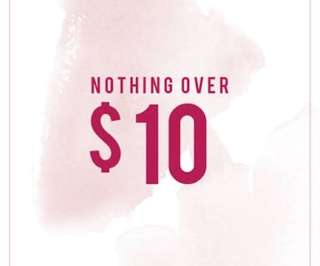 Need gone nothing over $10