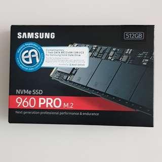 Samsung 960 PRO Series - 512GB PCIe NVMe - M.2