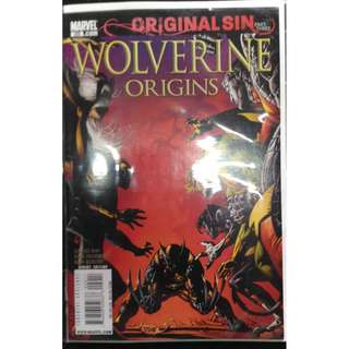 Xmen Original Sin Part III of V Wolverine Origins Comics Brand New