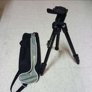 Manfrotto tripod with bag