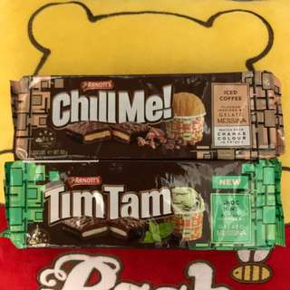 Tim Tam - Iced Coffee 凍咖啡味, Choc Mint薄荷巧克力味