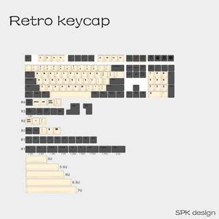 Retro Keycap set