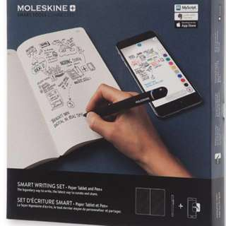 全新Moleskine Smart Writing Set 智能書寫套裝